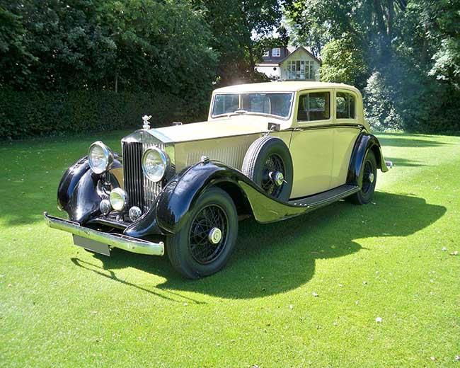 1935 Rolls Royce Phantom in London