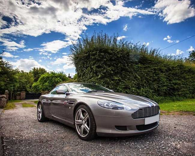 Aston Martin DB9 Hire in London