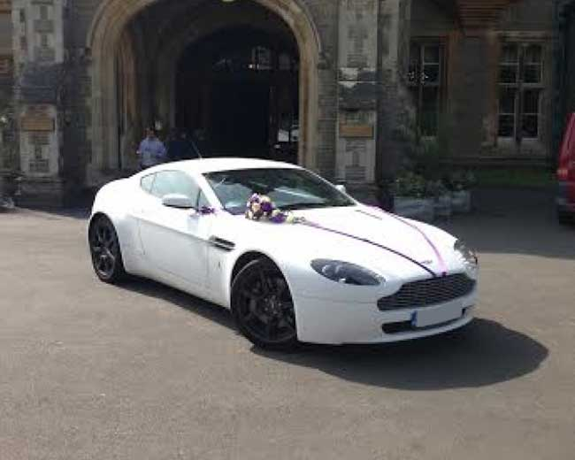 Aston Martin Vantage Hire  in London
