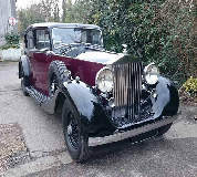 1937 Rolls Royce Phantom in London
