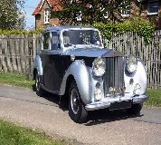 1954 Rolls Royce Silver Dawn in London