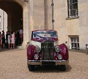 1955 Rolls Royce Silver Wraith in London