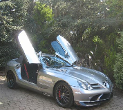 Mercedes Mclaren SLR Hire in London