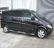 Mercedes Viano Hire in London
