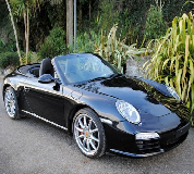 Porsche Carrera S Convertible Hire in Middlesex and Heathrow