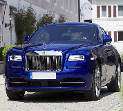 Rolls Royce Ghost - Blue Hire in London