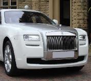 Rolls Royce Ghost - White Hire in London