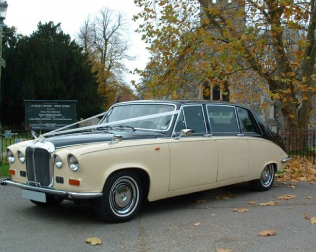 Ivory Baroness IV - Daimler Hire in London