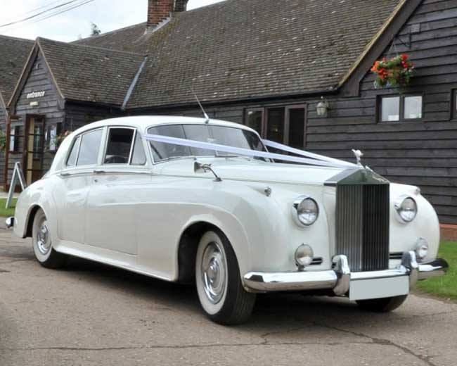 Marquees - Rolls Royce Silver Cloud Hire in London