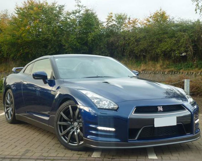 Nissan GTR in London