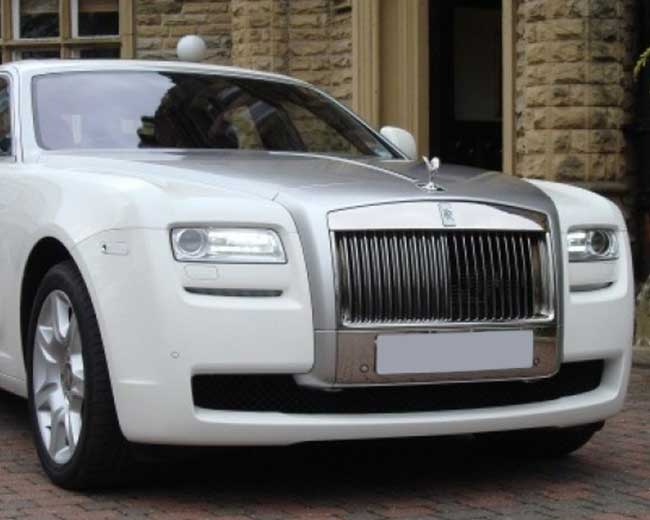 Rolls Royce Ghost - White Hire in London