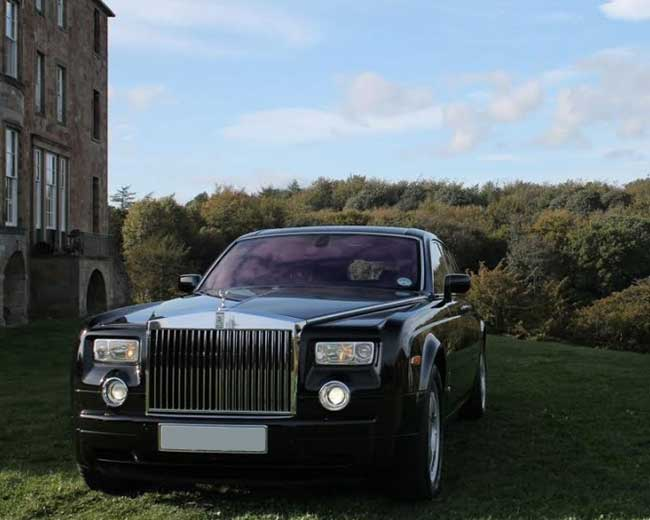 Rolls Royce Phantom - Black Hire in London