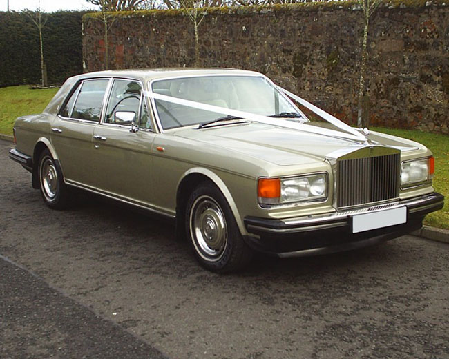 Rolls Royce Silver Spirit Hire in London