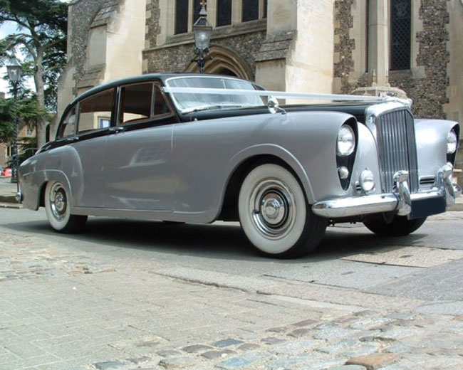 Silver Lady - Bentley Hire in London